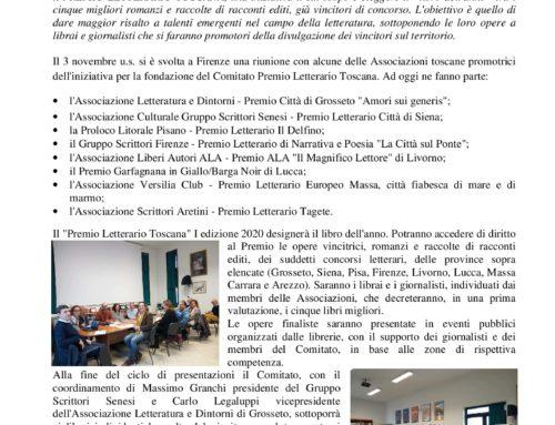 Nasce il Premio Letterario Toscana