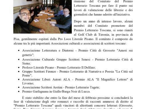 News Premio Letterario Toscana